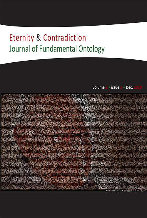 View Vol. 2 No. 3 (2020): Eternity & Contradiction Journal of Fundamental Ontology