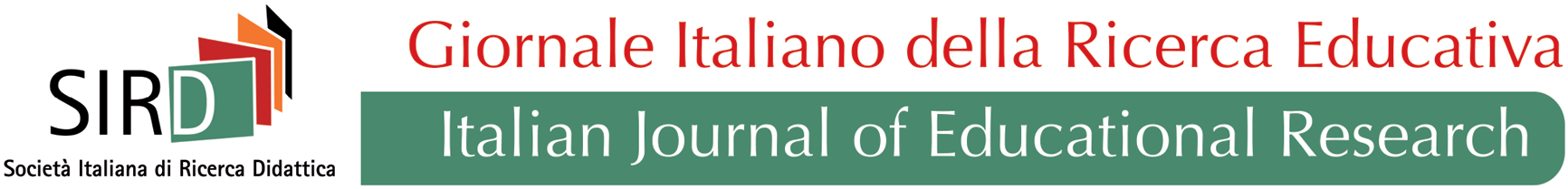 Italian Journal of Educational Research (IJEduR)