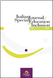 Visualizza V. 8 N. 2 (2020): Italian Journal of Special Education for Inclusion