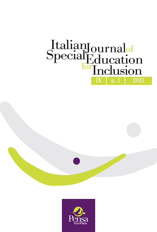 Visualizza V. 9 N. 1 (2021): Italian Journal of Special Education for Inclusion