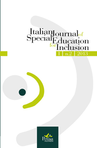 Visualizza V. 1 N. 2 (2013): ITALIAN JOURNAL OF SPECIAL EDUCATION FOR INCLUSION